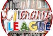 The Literary League / This is a collaborative board for secondary ELA teachers. Please pin a variety of paid products, freebies, blog posts, etc.  / by Tammy Manor (Juggling ELA on TpT)
