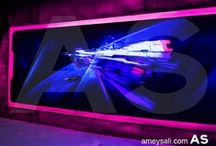 Space Themed Blacklight Lasertag Arena (Suzhou Taroko) / Space Themed Blacklight Lasertag Arena (Suzhou Taroko)