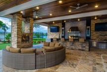 Barbeques and Outdoor Kitchens / Ideas and Inspiration for outdoor cooking