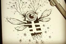 STEFANO ARICI ART / #stefanoarici #ink #inked #china #Black #blackwork #blackworkers #blackworker #graphic #graphisme #graphique #line #linework #dessin #dibujo #painting #paint #sketch #illustration #Brescia #draw #art #noir #nero #sketchbook #blackbook #disegno #artbrut #brutart #flashtattoo #flash #flashwork #skull #arte #doodle