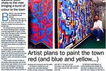 Press / Michael Carlton Art Press Coverage