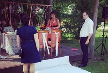 Wedding Planner at work :-) / Backstage!!!