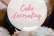 cake decorating / cake decoration ideas and inspiration