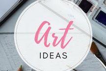 Art ideas / Art inspiration and ideas