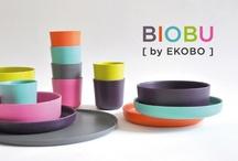 BIOBU | Collection Bambino / EKOBO launches a new brand, BIOBU by EKOBO, a range of bio-compostable bamboo fibre tableware: RESISTANT, REUSABLE & RENEWABLE!