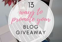 Blogging Tips / Blogging and social media tips
