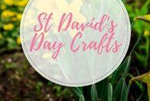 St davids day craft ideas