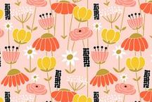 Floral Patterns / by Passionfruit and Lemonade