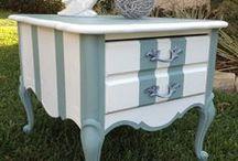 Méli-mélo, petits objets, meubles chinés, récup, bricolage, DIY