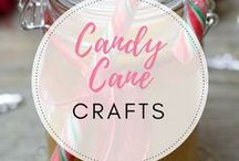 candy cane crafts / Everything you could possibly want to make from Christmas Candy canes