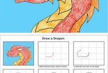 hogyan rajzoljunk... / rajzolás lépésről-lépésre