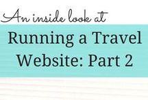 Running a Travel Website