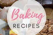 Baking recipes / Selection of sweet and savoury baking recipes. All vegetarian. Mostly gluten free.