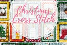 Christmas cross stitch / Great collection of Free Christmas cross stitch patterns to suit everyone.