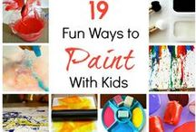 Painting for under 3's