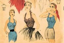 sew fun - vintage / vintage sewing patterns to try....50's & 60's mostly