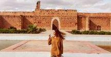 ☆ M A R R A K E C H ☽ / Marrakech • Architecture • Travel