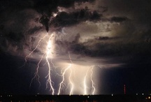 (N)-STORMS LIGHTNING TORNADOES / storm clouds, lightning / by Ruth Hamilton