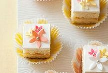 Mini Cakes and Petits Fours