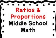 Ratios & Proportional Relationships Domain: Middle School (6-8) Math / This board contains middle school math resources related to the Ratios & Proportional Relationships Domain. These resources include teaching ideas, fun activities, blog posts, centers, games, teachers pay teachers products, free downloads, tips, middle school student resources, videos to accompany lessons, etc. Only post pins related to the board title. Collaborators: when pinning, scan the board & delete duplicates, & also surround product pins with ideas/free resources that apply.