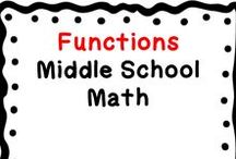 Functions Domain: Middle School (grade 8 only) Math / This board contains middle school math resources related to the Functions Domain.  These resources include teaching ideas, fun activities, blog posts, centers, games, teachers pay teachers products, free downloads, tips, middle school student resources, videos to accompany lessons, etc.  Only post pins related to the board title.  Collaborators: when pinning, scan the board & delete duplicates, & also surround product pins with ideas/free resources that apply (middle grades).