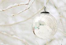 White Christmas Decor / Inspiration