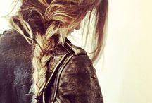 { Messy hair & braids }