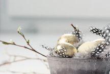 Easter Decoration. Eggs / Inspiration. Easter eggs, table decor, ideas