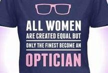 optycznie / Wszystko, co związane z optyką i optometrią. /// Everything related to optics and optometry.