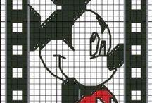 cross stitch / Hart krzyżykowy - wzory /// Cross stitch - patterns