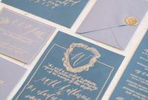 Wedding Hand Lettered Calligraphy / Wedding hand lettered calligraphy. Inspiration