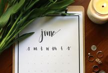 Calendar Ideas / Calendars