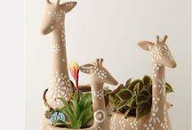 Ceramic sculptures / Inspiration