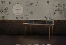 Tables & Desks by Larforma / Dining table or a luxurious desk. Get inspired.