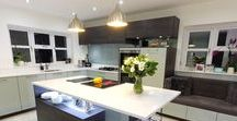 One Of Our Bespoke Kitchens All Finished! / Effortless, chic and efficient style!