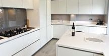 White Elegance / The modern design has sleek lines and is appealing to the eye.  With Siemens appliances and Quooker twintaps and many other accessories, this is the perfect kitchen for entertaining.