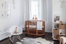 Decoração | Baby / Inspiração de decor de quarto de bebês