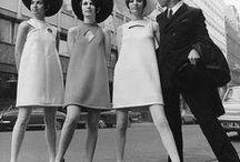 Moda | 60's / Inspirações e referências de estilo dos anos 60