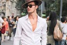 Moda | Homens / Inspirações e referências de estilo masculino.