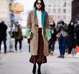 Moda /  Inverno Europeu / Looks inspiração para o inverno.