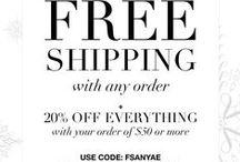 Avon Free Shipping / Avon free shipping on any order, $10 orders, and $30 orders. Check for 2016 Avon free shipping codes, Avon coupons, and Avon coupon codes. Shop now by going to www.youravon.com/eseagren or click on any of the pins. / by Avon Rep, Emily