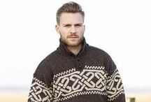Mens Irish Sweaters & Accessories