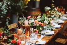Dreamy Table Settings // Inspiration / Dining and party tables