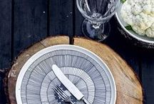 Prop Love / Beautiful dinnerware to serve your Eat Fit Food meals on