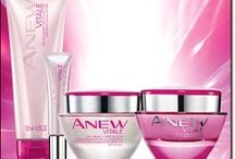 Avon Anew Vitale / Avon Anew Vitale fights the look of sleep-deprived skin and the look of stress. Avon will contribute $5 to the Breast Cancer Crusade for every day and night cream sold! Buy Anew Vitale by clicking on any of the pins below or going to www.youravon.com/eseagren.