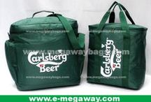 Drinks Beer Wine Juice Snack Food Carlsberg Bags #Megaway @MegawayBags / MegawayBags-Carlsberg Beer Bags, Drinks Promotional Bags, Food Brand Souvenirs,