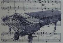 Romantisme du piano. / Le piano est la parole de ceux qui n'en ont pas.