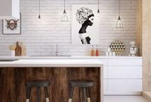 Dream Kitchens // Inspiration / Daydreaming about cooking in one of these beautiful kitchens