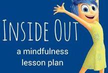 Inside Out / Extra inspiratie en creatieve ideetjes voor leerkrachten bij de animatiefilm Inside Out. Dit bord is een verlengde van de lesmap die Lessen in het donker bij de film maakte.