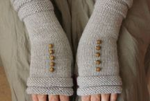Варежки, митенки / Варежки, митенки, вязаные перчатки, вязаные варежки